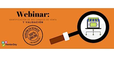 WEBINAR; Identificación de mis canales de venta y validación