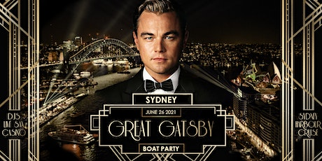Great Gatsby Boat Party - Sydney  Jul 31 tickets