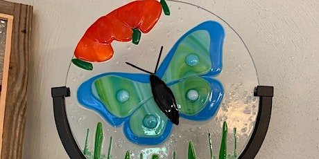 Flutterby Butterfly Fused Glass Workshop tickets