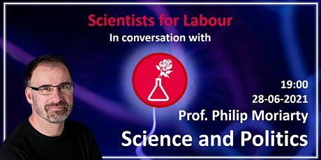 Philip Moriarty - Science and Politics : funding, outreach, and impact tickets