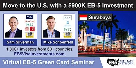 U.S. Green Card Virtual Seminar – Surabaya, Indonesia tickets