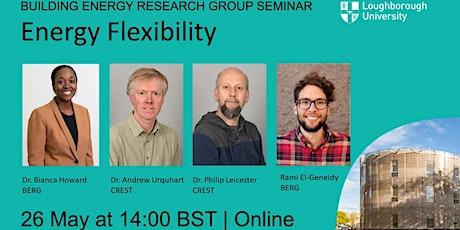 BERG Seminar 7: Energy Flexibility tickets