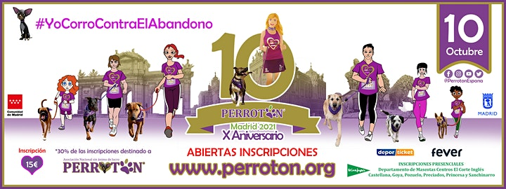 Imagen de PERROTON MADRID 2021 - 10º ANIVERSARIO PERROTON ESPAÑA