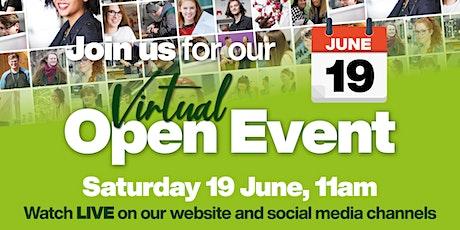 Wakefield College | Virtual Open Event |19  June 2021 tickets