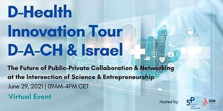 D-Health Virtual Innovation Tour D-A-CH & Israel ingressos