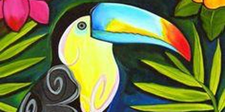 Half Term Children's Art Webinar 'Tropical Toucan tickets