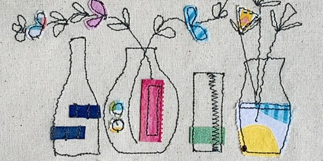 Beginners Free Motion Embroidery Workshop biglietti