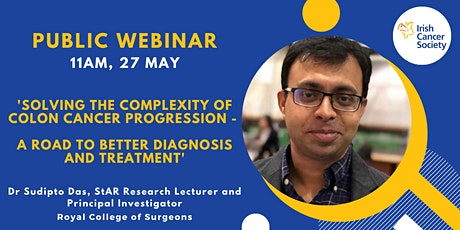 WEBINAR: Solving the complexity of colon cancer progression tickets