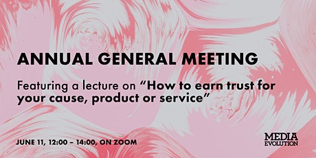 Media Evolution's Annual General Meeting! tickets