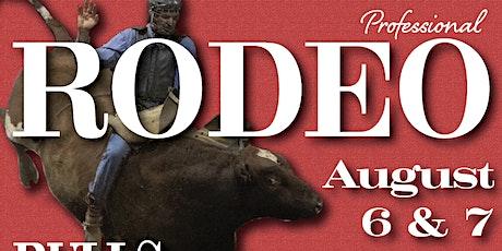 Pro Rodeo Doswell VA Bulls Broncs Barrels tickets