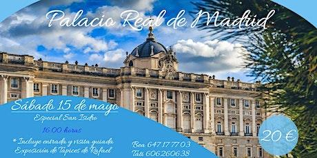 VISITA GUIADA al PALACIO REAL + TAPICES DE RAFAEL con GUIA OFICIAL entradas