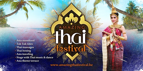 Amazing Thai Festival - Leuven 2021 tickets