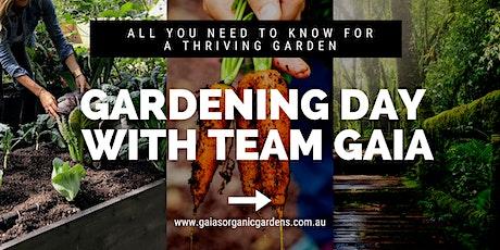 Gardening Day with Team Gaia June 2021 tickets