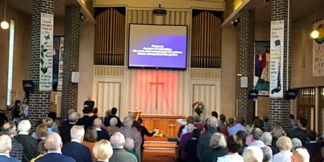 Sunday 16th May Morning Worship Sunday Service  at 10.30am tickets
