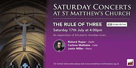 The Rule of Three - Piano Trio tickets