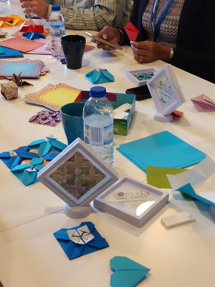 Image pour Azulejos and origami