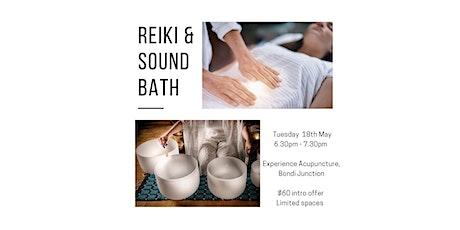 Reiki & Sound Bath tickets