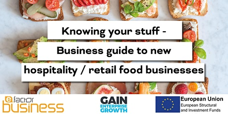 GAIN Business Guide to New Hospitality/Retail Food Businesses Webinar tickets