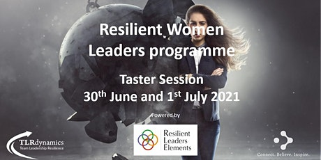 Resilient Women Leaders programme Taster Session tickets