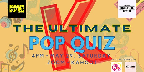The Ultimate Hallyu il K Pop Quiz tickets