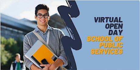 Virtual Open Day - School of Public Services biglietti