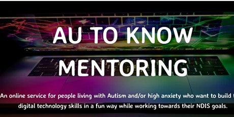 Tech Mentoring - Autism and Anxiety - Information Session for Parents tickets
