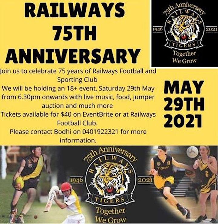Railways FC 75th Anniversary image