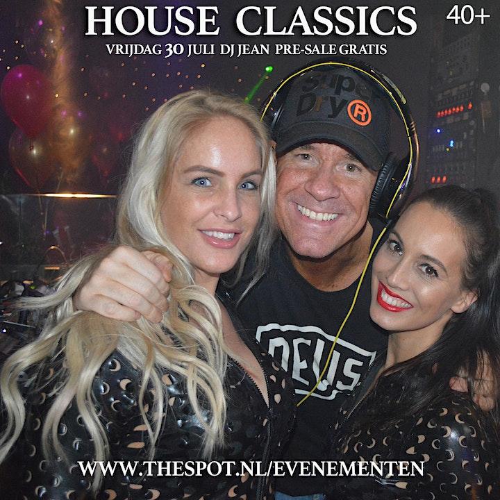 Afbeelding van House Classics DJ JEAN is CANCELLED vanwege Coronaregels