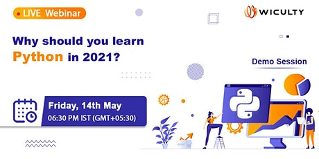 Why should you learn Python in 2021? | Live Webinar tickets
