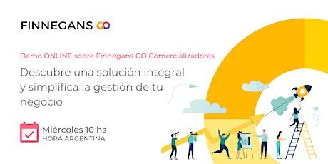Demo ONLINE Finnegans Go Comercializadoras entradas