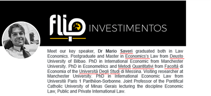 Webinar - Economy and Investment in Brazil's post COVID image