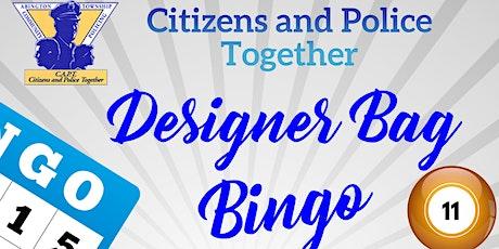 Citizens and Police Together (C.A.PT.) Designer Bag Bingo tickets