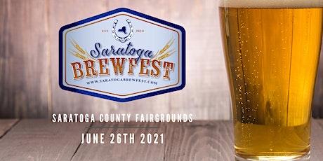 Saratoga Brewfest 2021 tickets