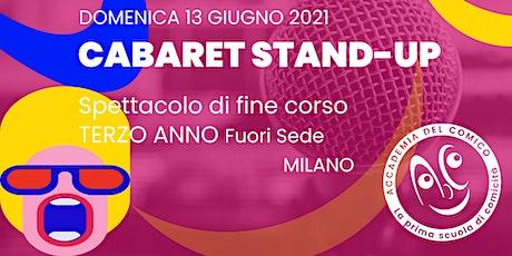 Cabaret Stand-up #MiCab3Fs biglietti