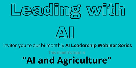 AI and Agriculture tickets