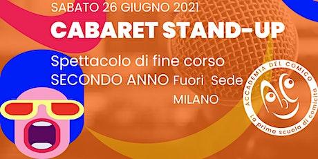 Cabaret Stand-up #MiCab2Fs biglietti