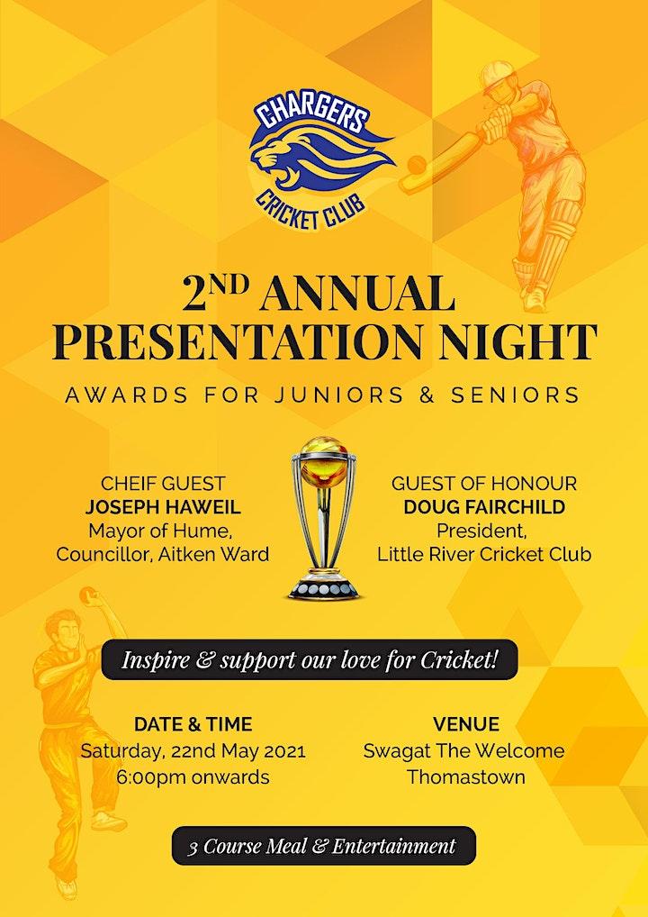 2nd Annual Presentation Night image