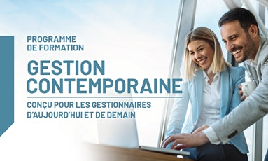Programme de formation en Gestion contemporaine 2021-2022 tickets