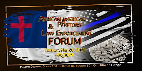 African American Pastors and Law Enforcement Forum tickets