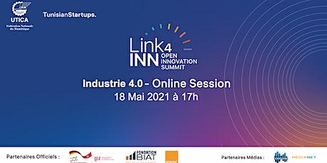Link4inn: Industrie 4.0 - Online session tickets