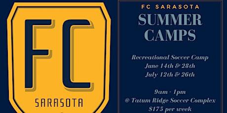 FC Sarasota Summer Soccer Camps tickets