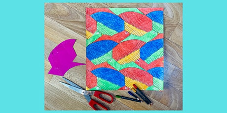 Maths on Toast 'Stay-in' Family Session – Escher Inspired Tessellations tickets