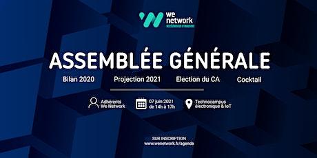 Assemblée Générale 2021 de We Network billets