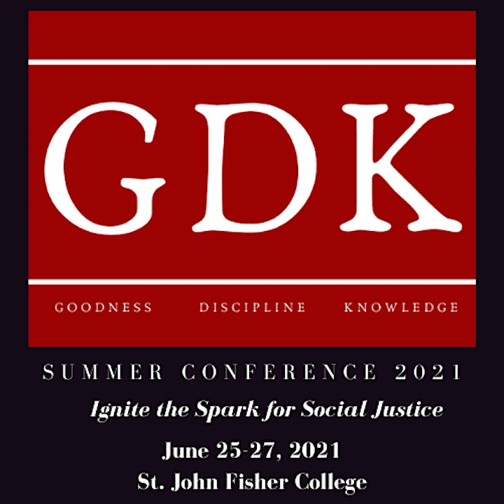 GDK Summer Conference 2021- Ignite the Spark for Social Justice image