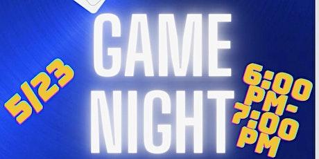 Sigma Game Night Tickets