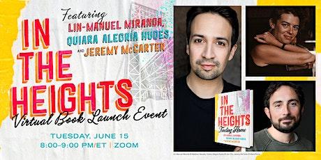 "Lin-Manuel Miranda in conversation ""In the Heights"" tickets"