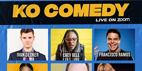 KO Comedy Live on Zoom: Saturday, May 15th, 2021 tickets