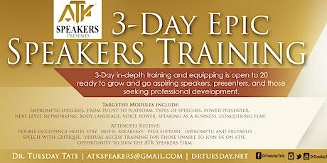 ATK Speakers Presents | 3-Day Speaker & Communication Training tickets