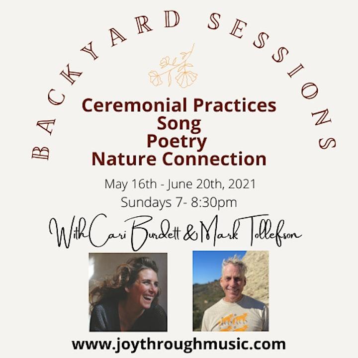 Mini sample of Backyard Sessions & Mini Q & A w/ Mark & Cari image