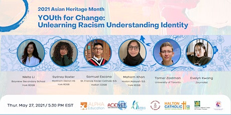 YOUth for Change: Unlearning Racism Understanding Identity  2021 AHM entradas